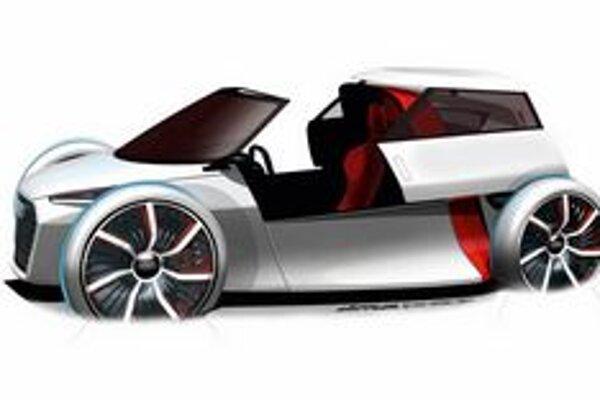 Štúdia Audi City Concept. Živú premiéru bude mať toto vozidielko na frankfurtskom autosalóne.