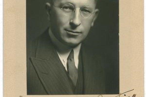 Frederick Banting. Pripisuje sa mu najväčšia zásluha na objavení inzulínu.
