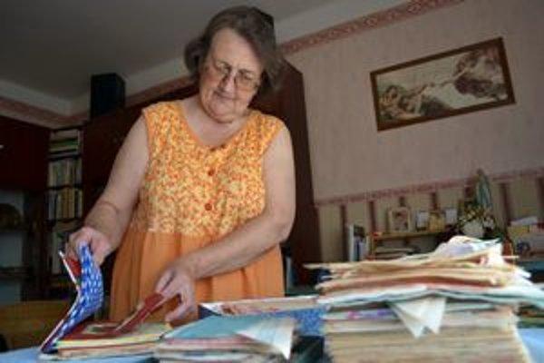 Zberateľka z Popradu. Mária Milčáková sa neraz pre svoju záľubu i hanbila.