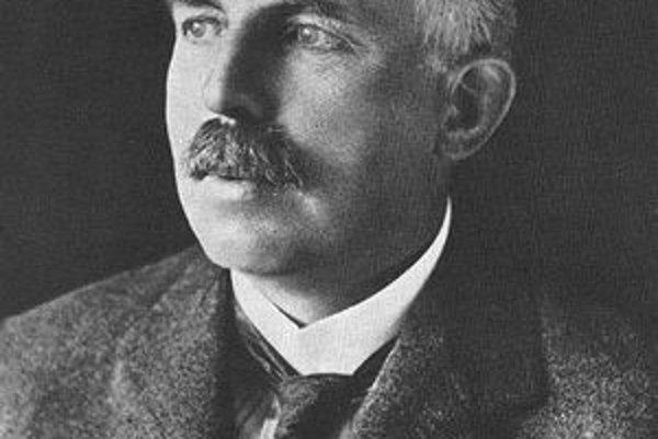 Ernest Rutherford. V roku 1908 dostal Rutherford za výskum rozpadu prvkov a chémiu rádioaktívnych látok Nobelovu cenu za chémiu.