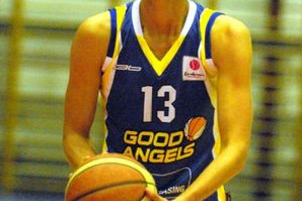 Lucia Kupčíková. V Ružomberku bola najlepšou stelkyňou Good Angels.