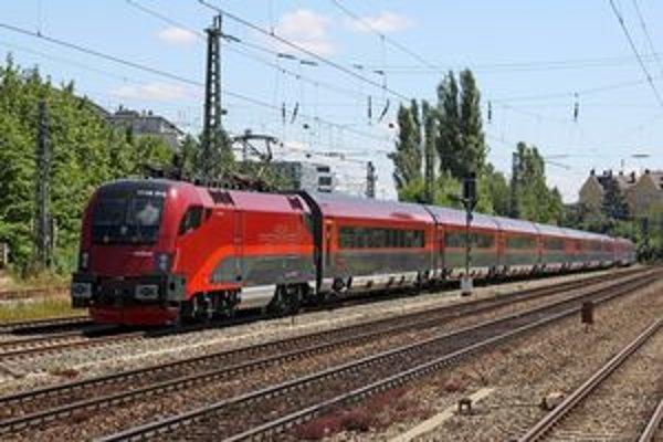 České súpravy Railjet budú vozené rušňami triedy 380, vyrábanými firmou Škoda.