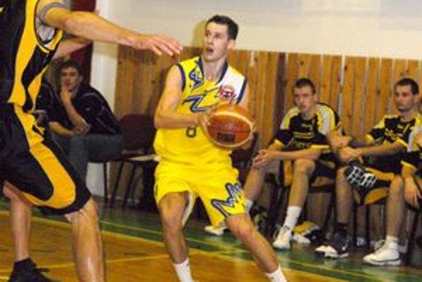 Alexander Lutter. Počas sezóny posilnil Sláviu TU Košice.