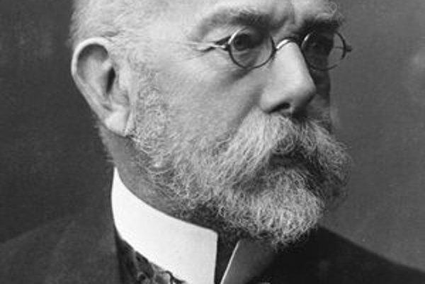 Robert Koch. Koch je jedným zo zakladateľov mikrobiológie.
