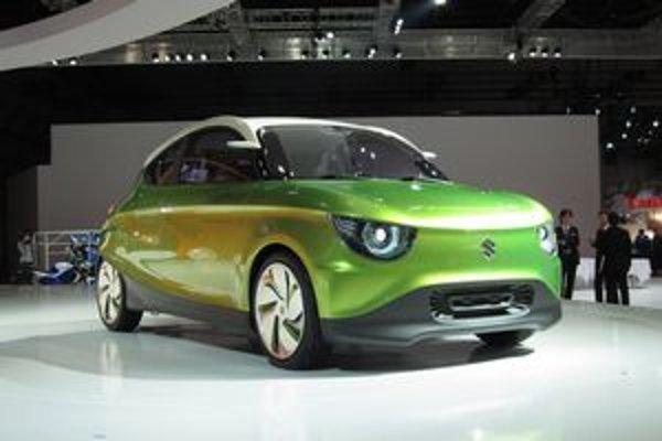 Koncepčný automobil Suzuki Regina. Regina (kráľovná) predstavuje víziu kompaktného automobilu budúcnosti.