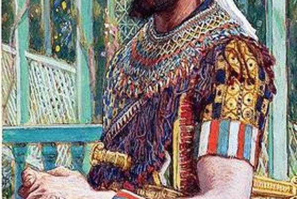 Herodes. Takto ho zobrazil maliar Tissot.