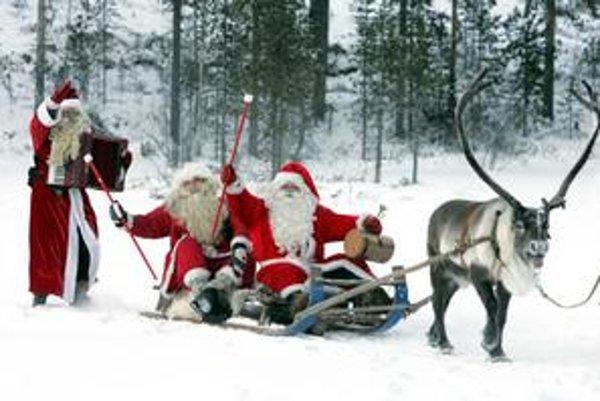 Soby neodmysliteľne patria k legendárnej postave Santa Clausa.