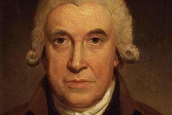 James Watt. Wattom vylepšený parný stroj odštartoval priemyselnú revolúciu.