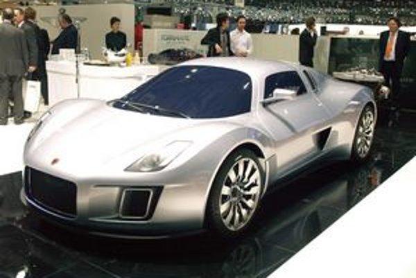 Superšportový Gumpert Tornante. Model Tornante bol odvodený od modelu apollo a na trh príde v roku 2012.