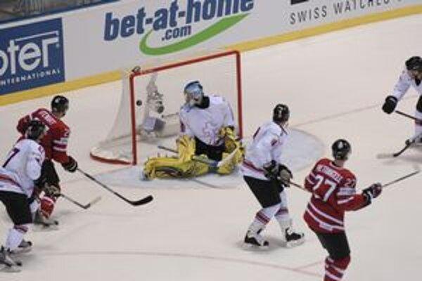 Gól javorových listov. Ten z hokejky Stewarta ešte víťazný nebol, rozhodli až v predĺžení.