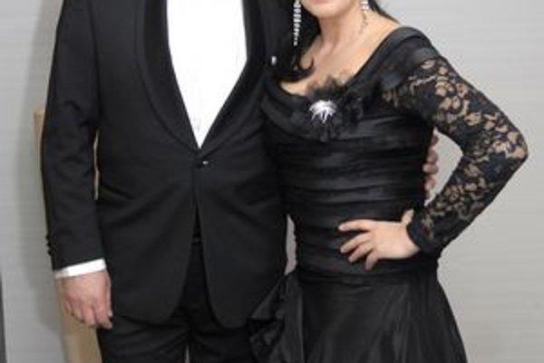 Manželia Malachovskí. V harmonickom vzťahu si nažívajú už vyše dvadsať rokov.