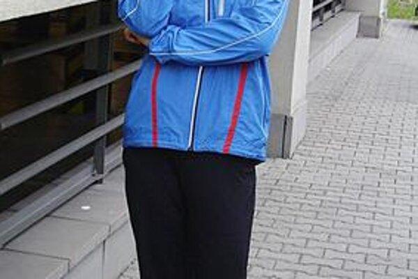 Smer Barcelona. Dana Velďáková tesne pred odchodom na ME.