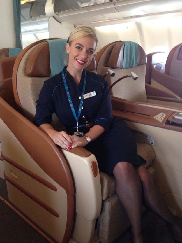 Práca letušky je podľa Radky niečo ako životný štýl.