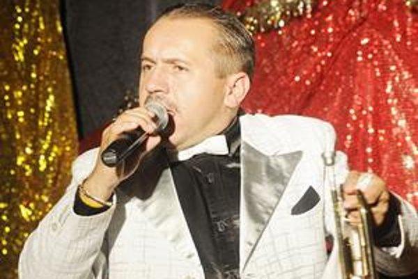 Finalista Talentmanie. Peter Ondria - slovenský Louis Armstrong.