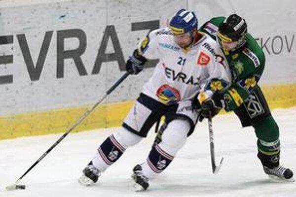 Rudolf Huna. Vo Vítkoviciach patrí medzi opory tímu.