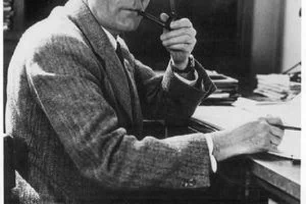 Edwin P. Hubble. Jeden z najvýznamnejších astronómov 20. storočia.
