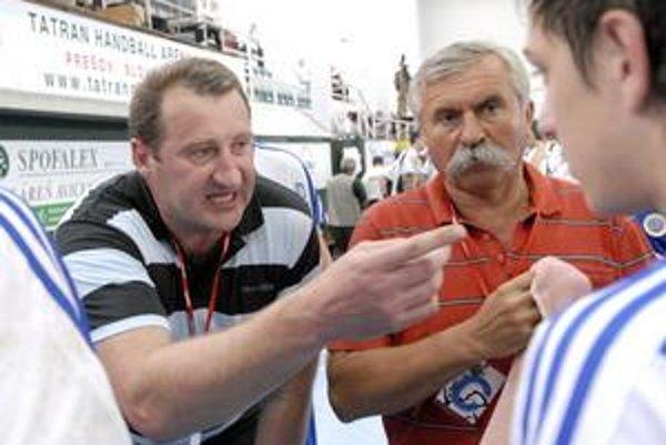Ján Hruščák. Jeho zverenci nechcú chýbať v play-off.