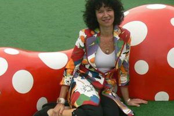 Košická výtvarníčka. Júlia Zelená posunula maľbu na hodváb na vyššiu úroveň.