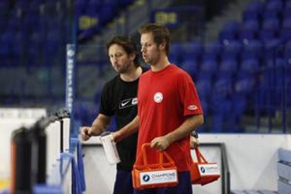 Maséri. Ľubomír Výrostek (vľavo) a Marcel Papcun.
