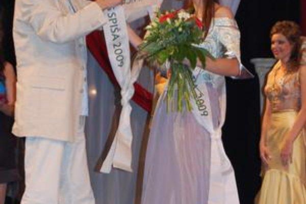 Nie politika, ale ženská krása. V Spišskej Novej Vsi mohli D. Krajcera vidieť ľudia aj na nedávnej súťaži Miss Spiša 2009.