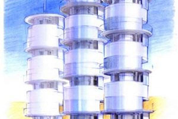"""Kresba inovatívneho """"zdroja"""" vody. Zariadenie bude schopné získavať vodu zo vzdušnej vlhkosti."""