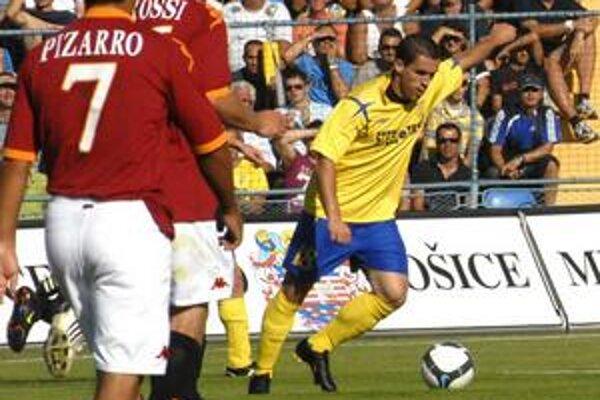 Pozor, strieľa Novák! Kanonier MFK sa včera blysol dvoma gólmi.