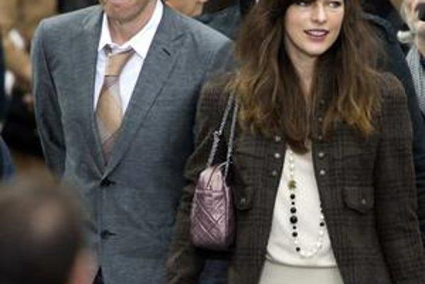 Milla Jovovich a režisér Paul Anderson.