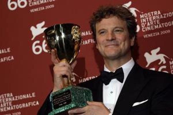 Najlepší herec. Brit Colin Firth.