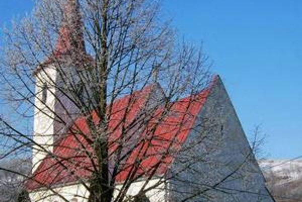 Kostol v Ďačove.