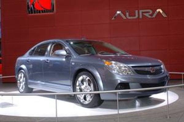 Saturn Aura. Pod značkou Saturn vyrábal koncern GM kompaktné vozidlá.