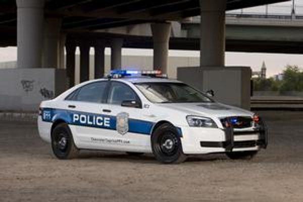 Chevrolet Caprice PPV. Takéto hliadkovacie vozidlá by americká polícia mala dostať v roku 2011.