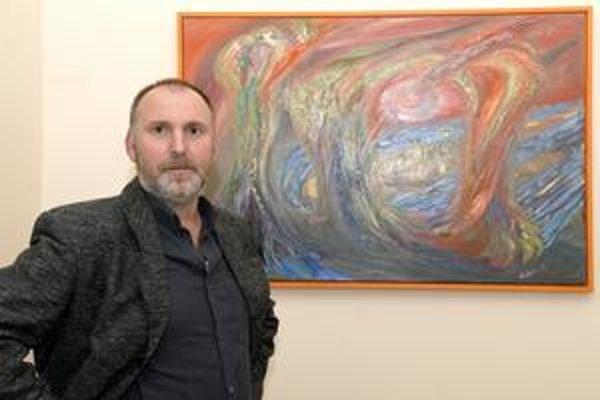 Hĺbavý umelec. Martin Zbojan sa venuje najmä komornej tvorbe a grafike.