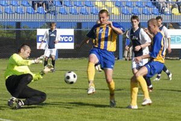 Najtesnejšia výhra. Favorit z Moldavy napokon prekvapenie v súboji so Stropkovom nedovolil.