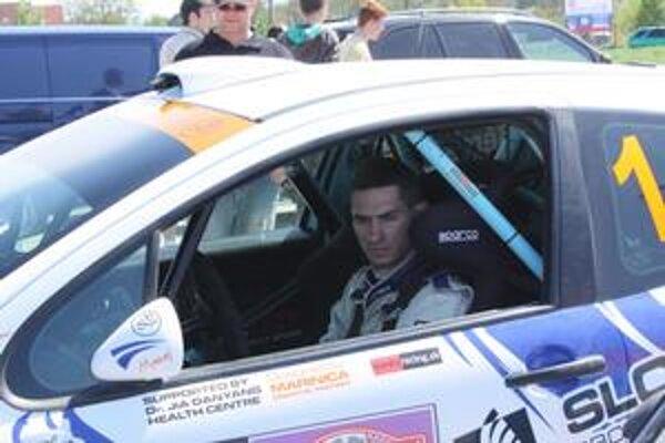 Jozef Béreš jr. Po trojročnej prestávke opäť vyhral Rally Prešov.