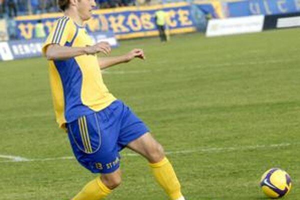 Darí sa mu. R. Cicman zaznamenal už piaty gól v sezóne.
