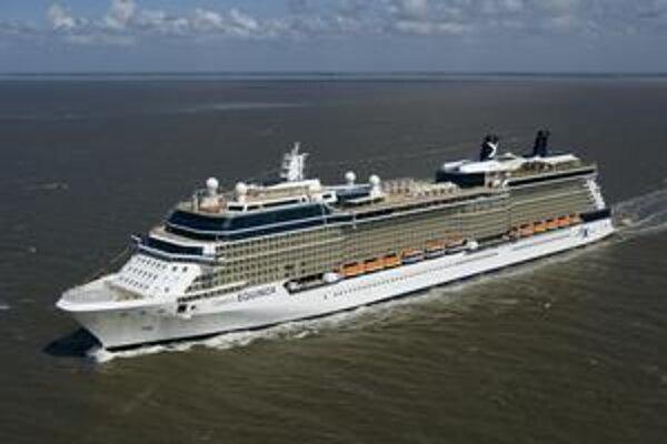 Loď Celebrity Equinox. Kabíny lode pojmú 2 850 dovolenkárov