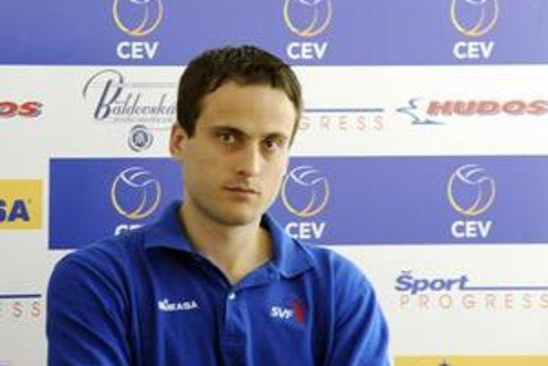 Po zranení. Tomáš Kmeť už tréneje s reprezentačným tímom.