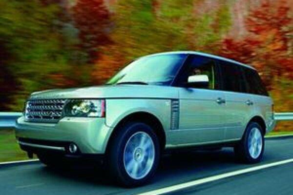 Inovovaný Range Rover. Novinkou je päťlitrový vidlicový osemvalec.