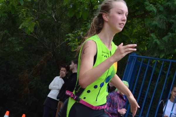 Aneta Kašubová preťala cieľovú pásku ako druhá.