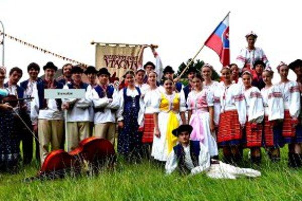 Folklórny súbor Vtáčnik sa predstavil na festivale v Nemecku.