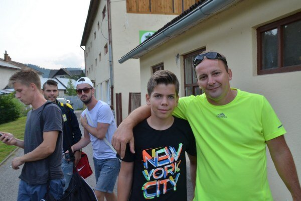 Otec a syn. Michal aMichal Domikovci.