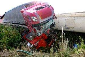 Tragická nehoda v Dobrej Nive.