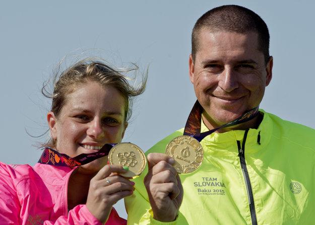 Rehák Štefečeková a Varga získali na Európskych hrách 2015 v Baku zlaté medaily.