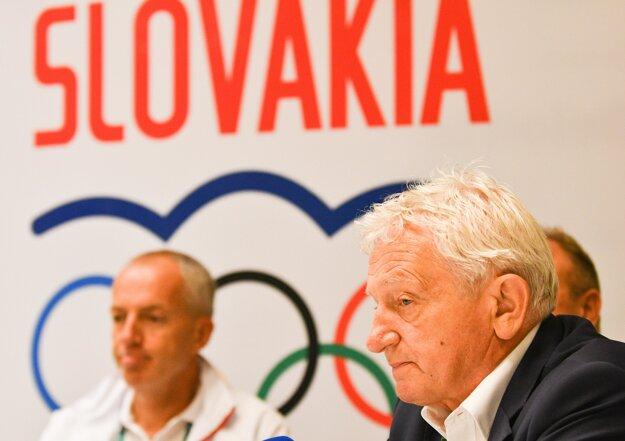 Prezident SOV František Chmelár (vpravo).