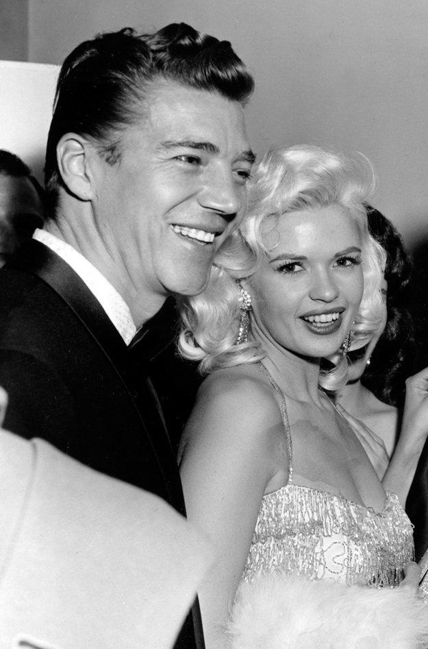 Rodičia Mickey Hargitay a Jayne Mansfield.