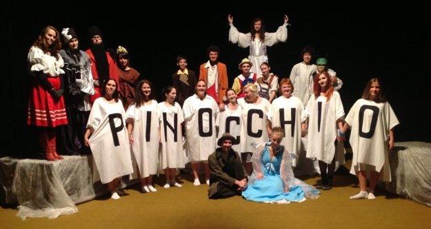 Pinocchio. Hra získala cenu za tvorivý čin roka.