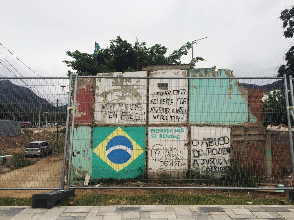 Chudobné štvrte museli vRiu ustúpiť štadiónom.