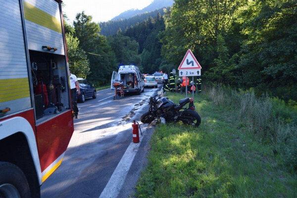 K nehode došlo v smere od Banskej Bystrice do obce Staré Hory.