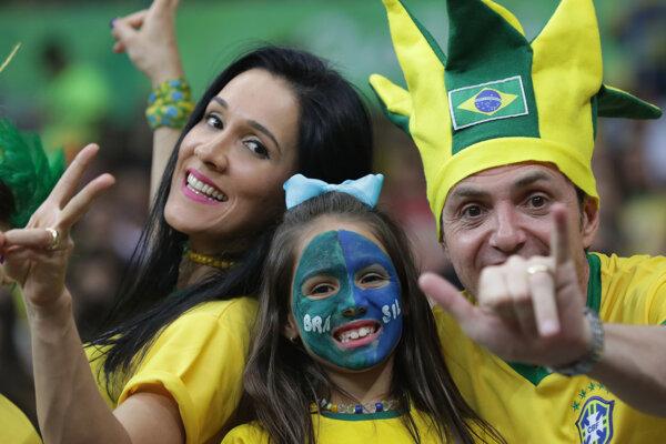 Čím Brazílčania zaujali, je skvelá atmosféra na tribúnach.