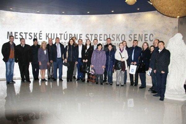 Moldavská delegácia si prezrela aj Mestské kultúrne stredisko